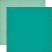 Dark Teal - Light Teal Paper - Once Upon A Time Princess - Echo Park