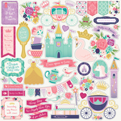 Once Upon A Time Princess Element Stickers - Echo Park
