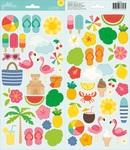 Sunshiny Days Cardstock Stickers - Pebbles
