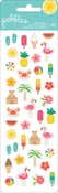 Sunshiny Days Mini Puffy Stickers - Pebbles