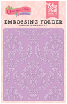 Enchanted Damask Embossing Folder - Echo Park