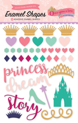 Once Upon A Time Princess Enamel Shapes - Echo Park