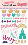 Once Upon A Time Princess Enamel Shapes - Echo Park
