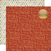 Charming Words Foil Paper - Once Upon A Time Prince - Echo Park