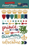 Once Upon A Time Prince Enamel Shapes - Echo Park