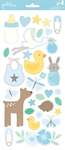 Lullaby Boy Stickers - Pebbles