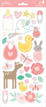 Lullaby Girl Stickers - Pebbles