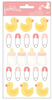 Lullaby Girl Puffy Stickers - Pebbles