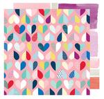 Evolving Love 12x12 Paper, Little By Little - Shimelle