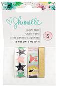 Little By Little Gold Foil & Glitter Washi Tape - Shimelle
