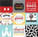 4X4 Journaling Cards Paper - Magic & Wonder - Echo Park