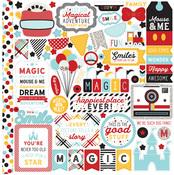 Element Sticker Sheet - Magic & Wonder - Echo Park