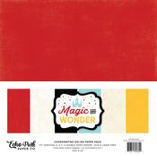 Magic & Wonder Solids Paper Kit - Echo Park