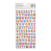 Donut Puffy Letter Thickers Stickers - On A Whim - Amy Tangerine