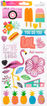 On A Whim Accent & Phrase Stickers - Amy Tangerine