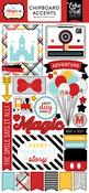 Magic & Wonder Chipboard Accent Stickers - Echo Park