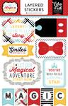 Magic & Wonder Layered Stickers - Echo Park