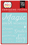 Wish Upon A Star Embossing Folder - Magic & Wonder - Echo Park