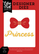Princess Bow Die Set - Magic & Wonder - Echo Park