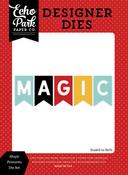 Magic Pennants Die Set - Magic & Wonder - Echo Park
