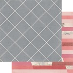 Antebellum 12x12 Paper - Magnolia Jane - Heidi Swapp