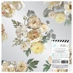 Magnolia Jane Acetate Floral 12x12 Paper
