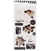 Magnolia Jane Clear Stickers - Heidi Swapp