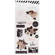 Magnolia Jane Clear Stickers - Heidi Swapp
