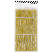 Magnolia Jane Alphabet Gold Stickers - Heidi Swapp