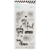 Magnolia Jane Only You Stamps - Heidi Swapp