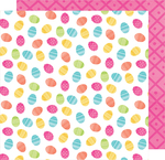 Chummy Bunny 12x12 Paper - Hello Spring - American Crafts
