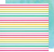 Cutie Bunny 12x12 Paper - Hello Spring - American Crafts