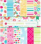 Hello Spring 6x6 Paper Pad - American Crafts
