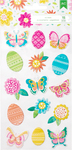 Hello Spring Puffy Stickers - American Crafts