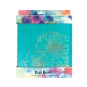 Teal & Gold Foil Storage Binder - Vicki Boudin