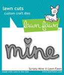 Scripty Mine Die - Lawn Fawn