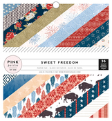 Sweet Freedom 6x6 Paper Pad - Pink Paislee