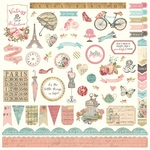 French Flea Market Element Stickers - Photoplay