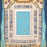Pool Time Paper - Let's Cruise - Carta Bella