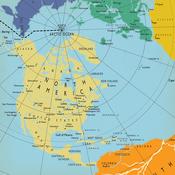 World Map Paper - Let's Cruise - Carta Bella