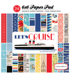 Let's Cruise 6X6 Paper Pad - Carta Bella