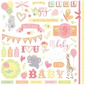 About A Little Girl Element Stickers - Photoplay