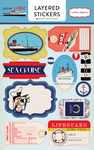 Layered Stickers - Let's Cruise - Carta Bella
