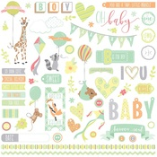 About A Little Boy Element Sticker Sheet - Photoplay