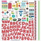 Barnyard Fundamental Sticker Sheet - Bella Blvd
