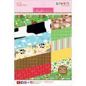 Barnyard 6 x 8 Paper Pad - Bella Blvd