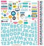 Secrets Of The Sea Girl Fundamental Sticker Sheet - Bella Blvd