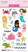 Secrets Of The Sea Girl Puffy Stickers - Bella Blvd