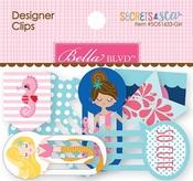 Secrets Of The Sea Girl Designer Clips - Bella Blvd