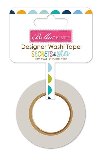 Great View Washi Tape - Secrets Of The Sea Boy - Bella Blvd